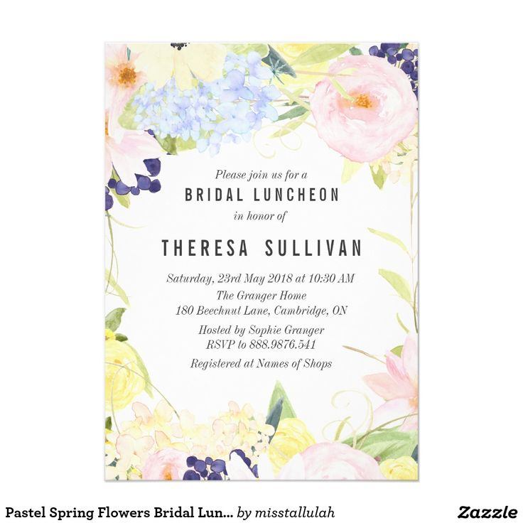 The 25+ best Bridal luncheon invitations ideas on Pinterest - Lunch Invitation Templates