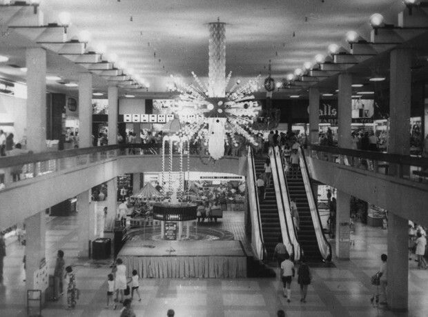 Bankstown Square in south western suburb of Sydney in 1971.