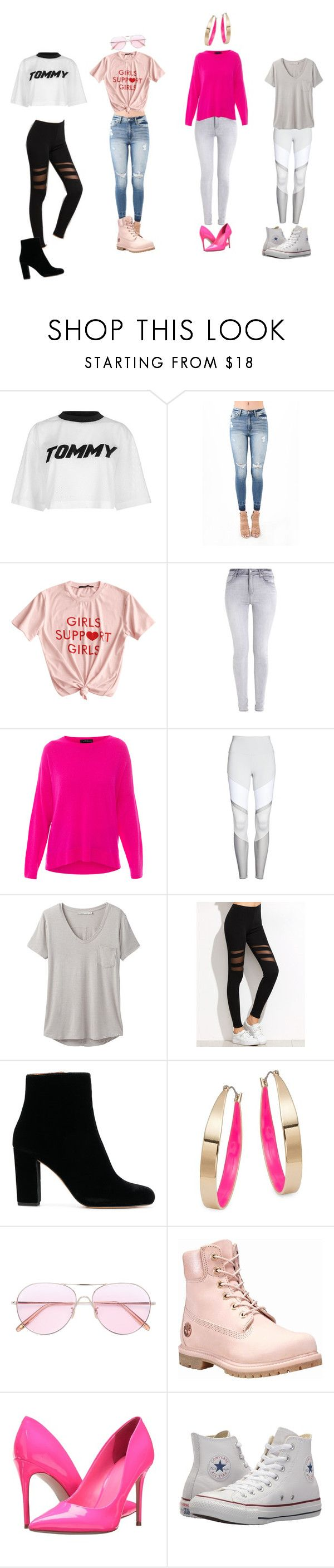 """""""Untitled #8"""" by winkelmiran ❤ liked on Polyvore featuring Tommy Hilfiger, Abercrombie & Fitch, MARC CAIN, Alo, prAna, IRO, Design Lab, Oliver Peoples, Timberland and GUESS"""