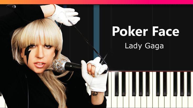 poker face lady gaga chords
