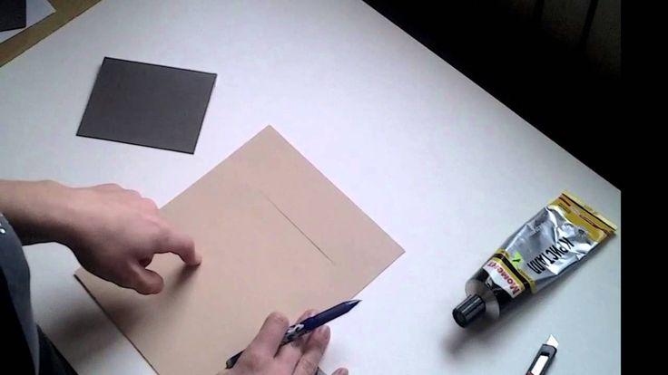 """МК:""""Открывающиеся подложки для фотографий"""""""