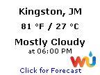 Click for Kingston, Jamaica Forecast