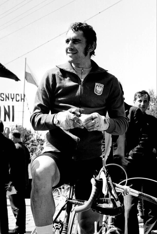 Ryszard Szurkowski Wyścig Pokoju 1973. Photo Credit: Jan Rozmarynowski