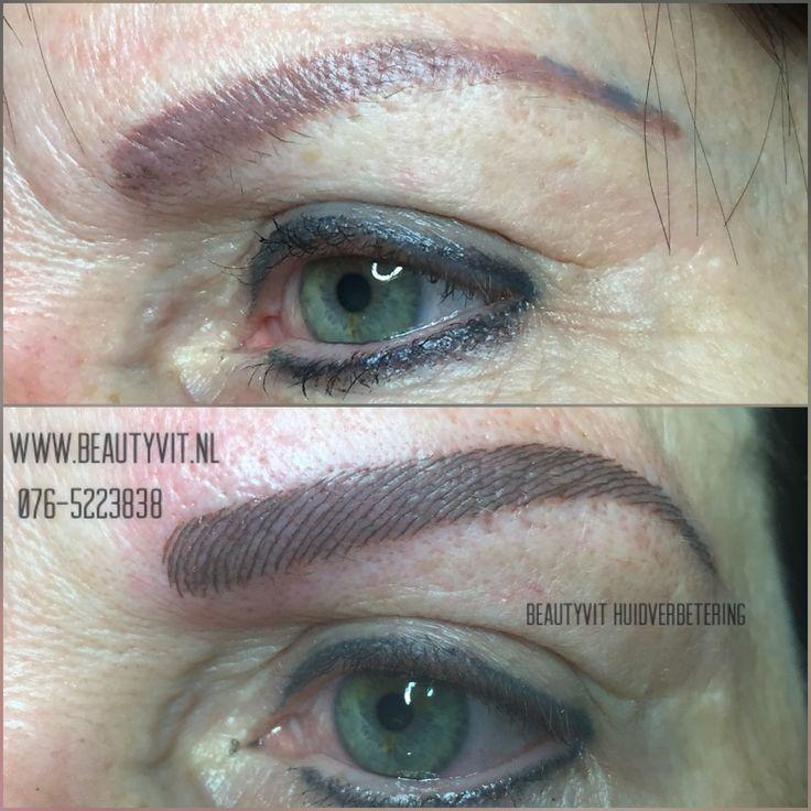 Heeft u ook oude permanente make-up waar u niet meer happy mee bent? Wij kunnen u weer wel happy 😀 maken met mooie gecorrigeerde wenkbrauwen met de nieuwste technieken. Bel of mail ons voor meer informatie 076-5223838 info@beautyvit.nl  Of kijk op onze website http://www.beautyvit.nl/Specials/Permanente-make-up/