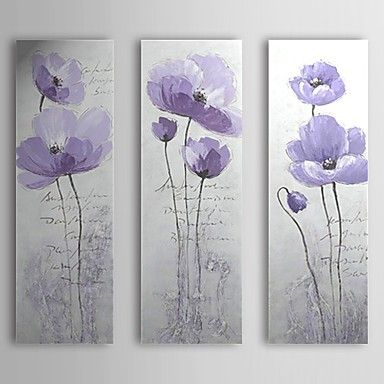 Hand-painted Flower Oil Painting - Flower Love