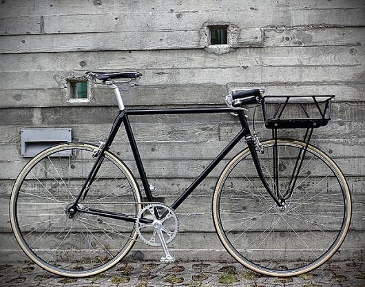 Designspiration — Urban Cycles Black Porteur