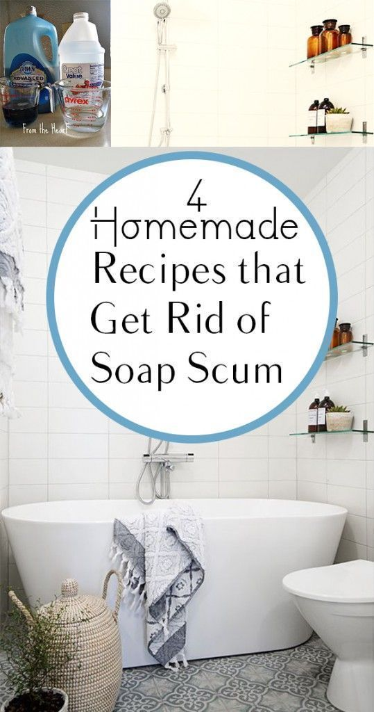 4 Homemade Recipes that Get Rid of Soap Scum (1)