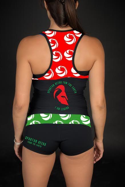 Spartan Heero Hun rövid szett, akadály futóversenyekre is terveztük!  Kényelmes, csinos, nedvszívó ezáltal megkönnyíti a sportolást az anyagának köszönhetően!