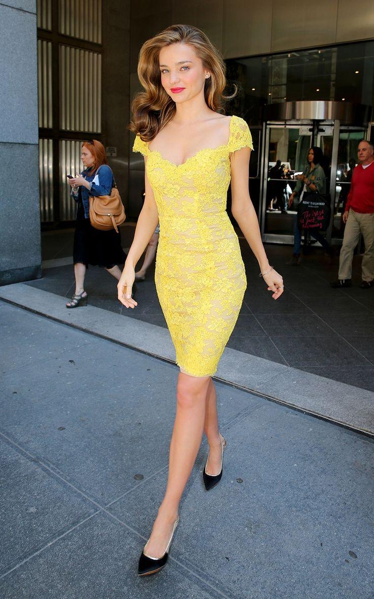 King cobra yellow lace dresses