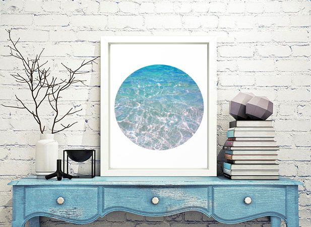 Turquoise Wall Art, Coastal Decor, Clear Waters, #Tropical #Turquoise #Waters, #WaterPhotography #Sea #Circle Print, #Relax #WallArt, #Printable, #Zen, #Relaxing #Gifts JuliaApostolovaArt #Large #Square #Painting #Print, #White and #Turquoise, #Modern #Art, #Abstract #WallArt, #LageCanvasPainting, #Canvas #Minimal #Julia Apostolova, #Etsy #homedecor #coastaldecor #blackandwhite #interior #bedroom #designer #interiordesigner #decor #interiordesign #minimalart #modernart #contemporar