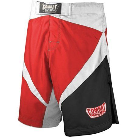 Combat Sports Fight MMA Boardshorts, Size: 40, Red