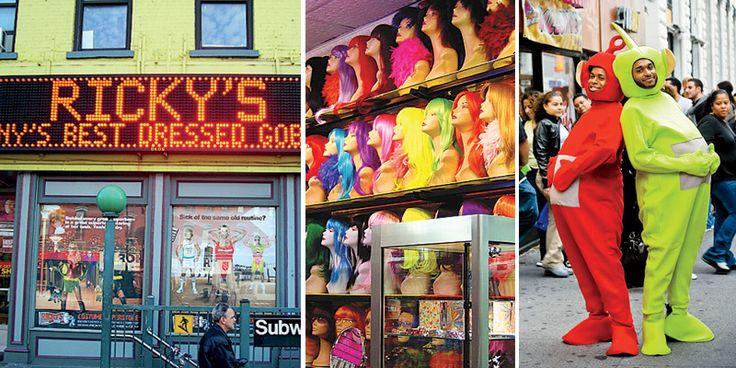 Ricky's opent met Halloween zo'n dertig pop-up stores in New York. Een pop-up store kan ingezet worden om seizoensgebonden producten te verkopen.