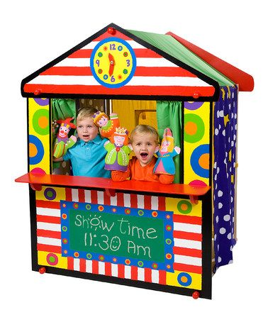 Another great find on #zulily! My Playhouse Theatre by ALEX #zulilyfinds