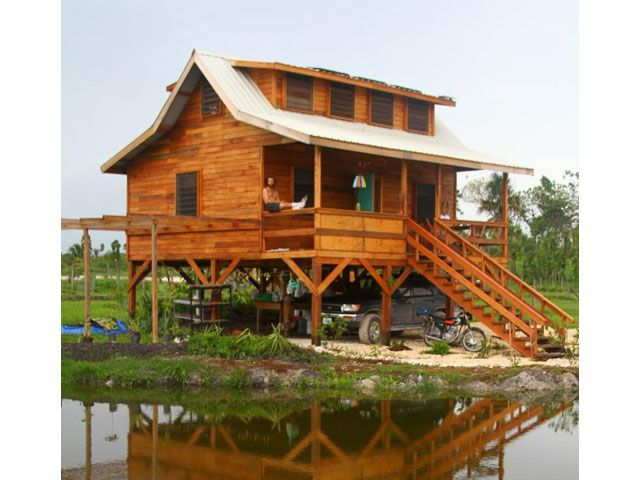 Beautiful Off Grid Hardwood Home And Farm In Belize 500