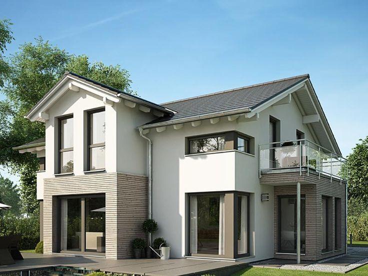 Haus bauen modern satteldach  53 besten Satteldach modern Bilder auf Pinterest | Satteldach ...