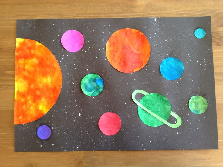 preschool planets art - photo #1