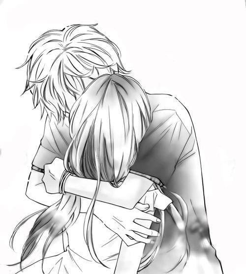 211 mejores im genes sobre anime couples en pinterest - Dessin manga amoureux ...