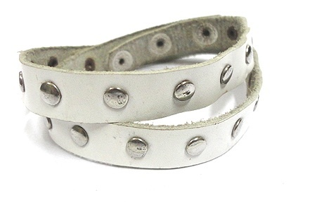 Studded Leather Wrap Bracelet  #bracelet  #indiverve