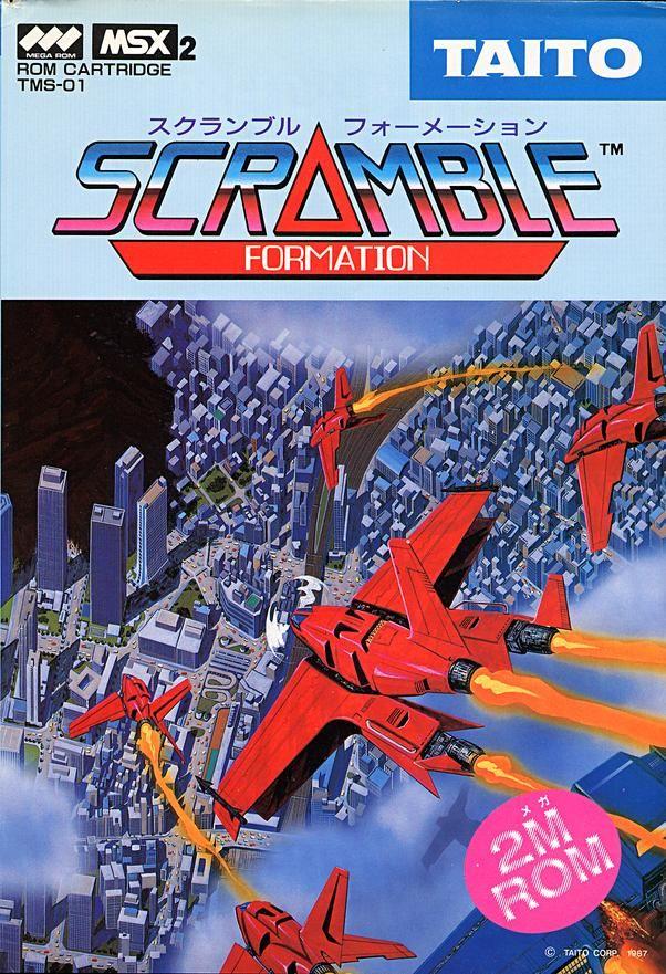Scramble Formation/Tokio, Arcade/MSX, Taito, 1986.