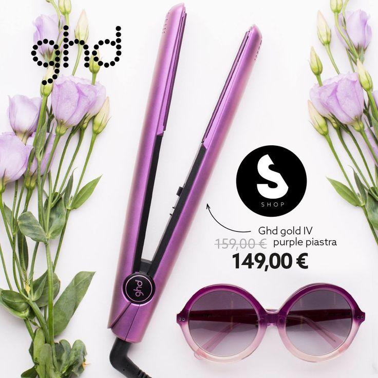 Edizione Limitata PURPLE  per la IV styler di @ghd ! Trasforma i tuoi capelli e il tuo #look!   #sereni