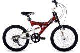 Kent Super 20 Boys Bike (20-Inch Wheels), Red/Black/White