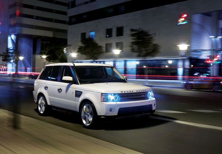 Oh.. And my Range Rover! White!