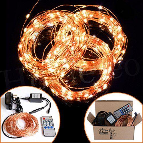 Homeleo 30Meters 300 Led String Lights Kit Flexible Led Original Copper Wire Lights for Wedding Decor Indoor and Outdoor Decoration