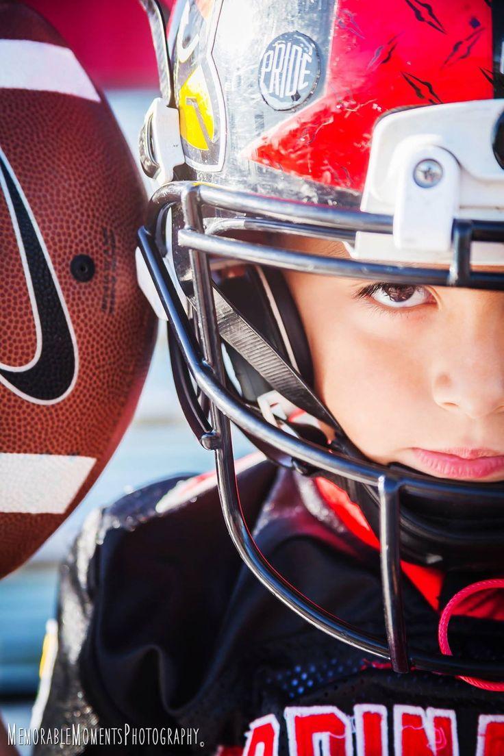 Sports Photography | Children Photography | Football | Fierce Shot | Cardinals | Little League Football | RGV Photographer
