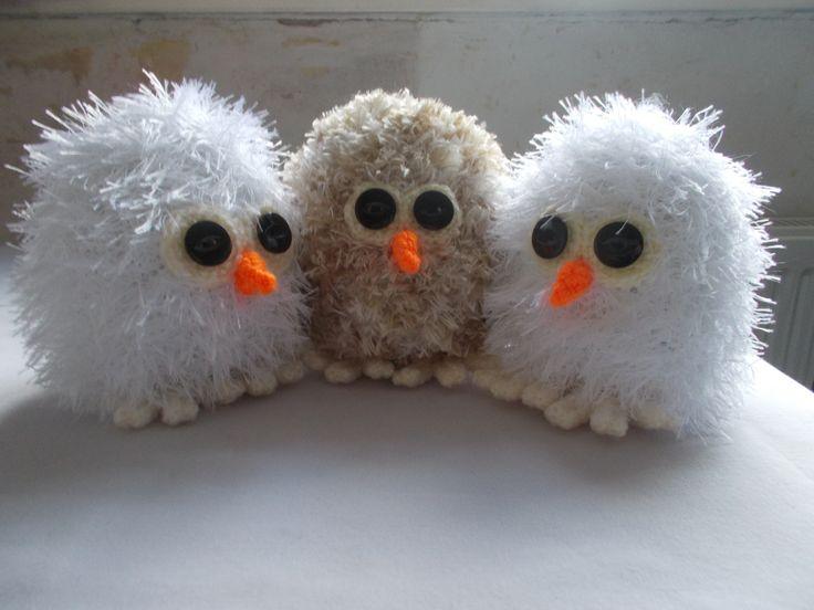 Cute little owlettes