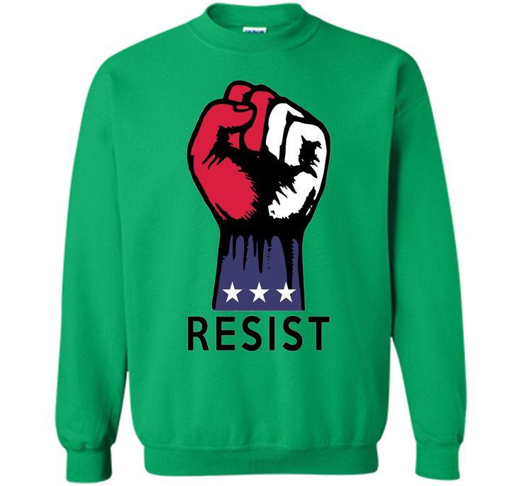 Resistance Fist Fight Political Corruption USA T-shirt
