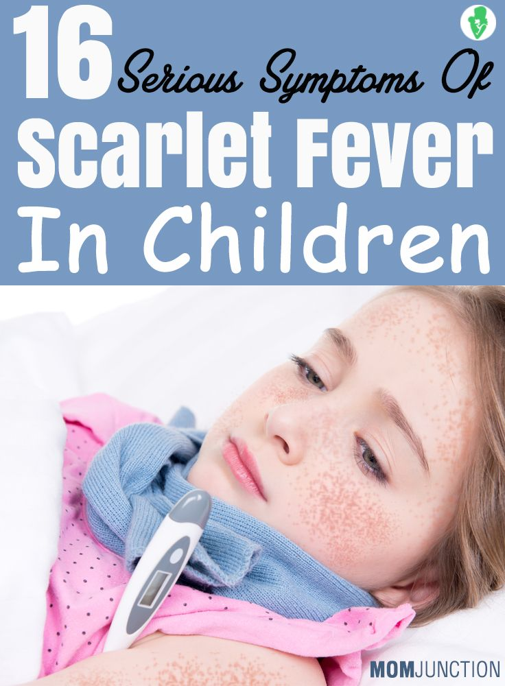 16 Serious Symptoms Of Scarlet Fever In Children: Here are few tell-tale signs that will help you identify whether your child is suffering from scarlet fever or not?