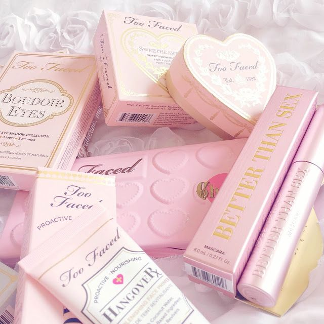 Pink Too Faced Makeup lovecatherine.co.uk Instagram catherine.mw xo