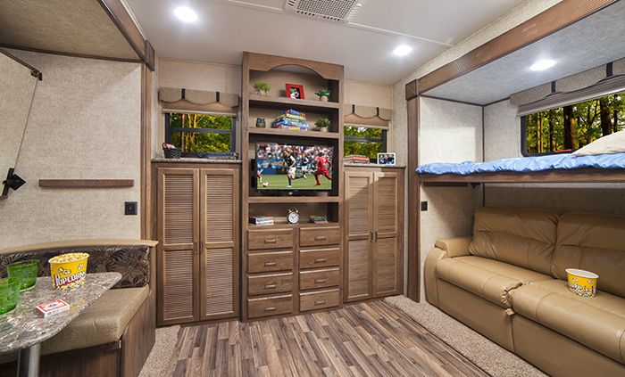 #7& 8 could be bunkhouse Denis. 12 Awesome RVs With Bunkhouse Floorplans. Motorhomes, Fifth Wheels, Travel Trailers and Toy Haulers, These Bunkhouse Floorplans All Have Fun And Unique Features.