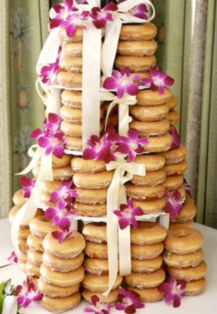 donut wedding cake 15 best creative brunch weddings images on 3654