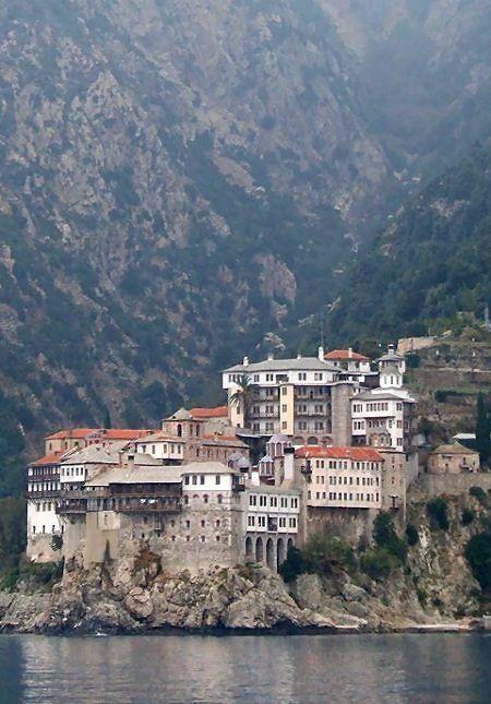 Osiou Grigoriou Monastery, Mount Athos, Greece | by WKE