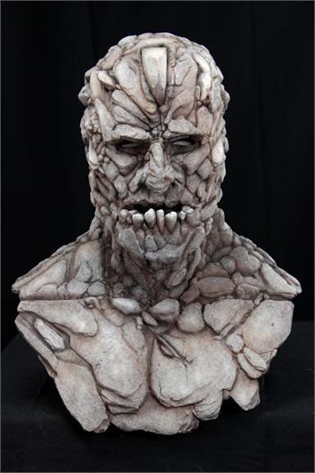 SLATE the GOLEM - Silicone Mask