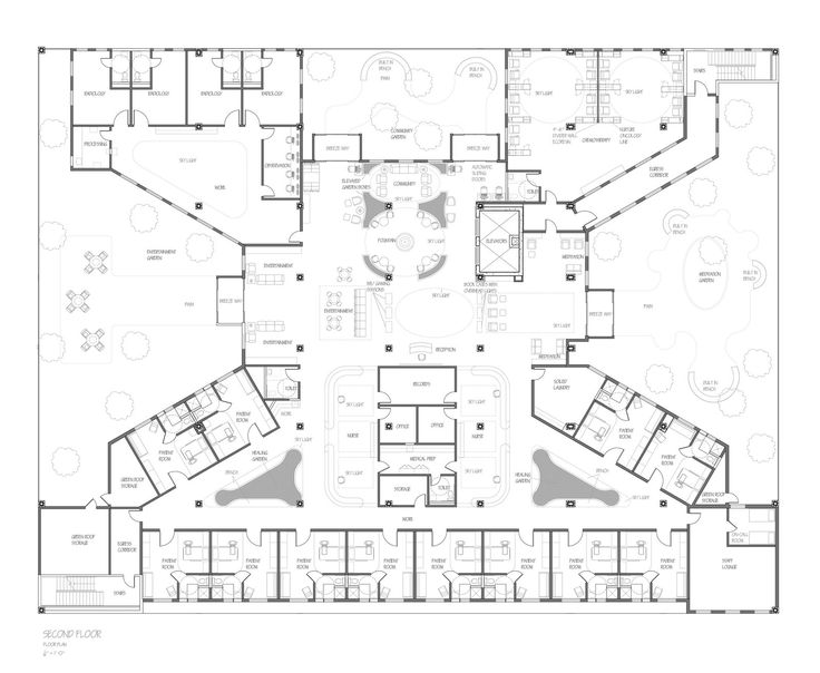 FloorplanSecondFloorcopyjpg Cancer Center Pinterest