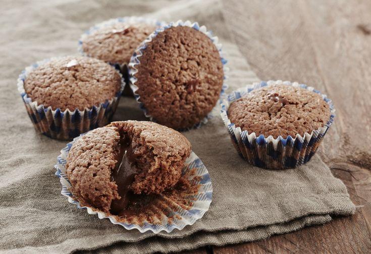 Bouchées fondantes chocolat caramel