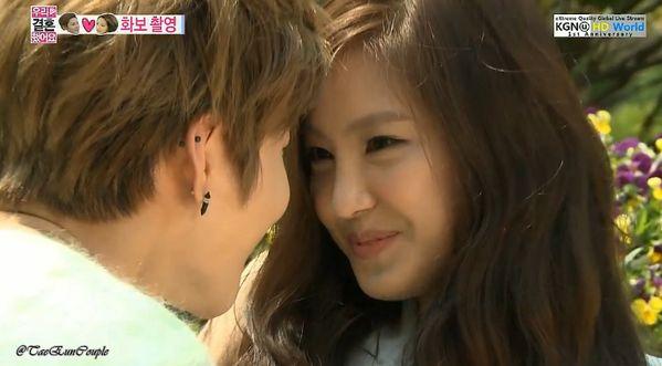 [Screen-snaps] SHINee Taemin  APink NaEun wedding photo shoot « WE GOT MARRIED Fan Club #wegotmarried