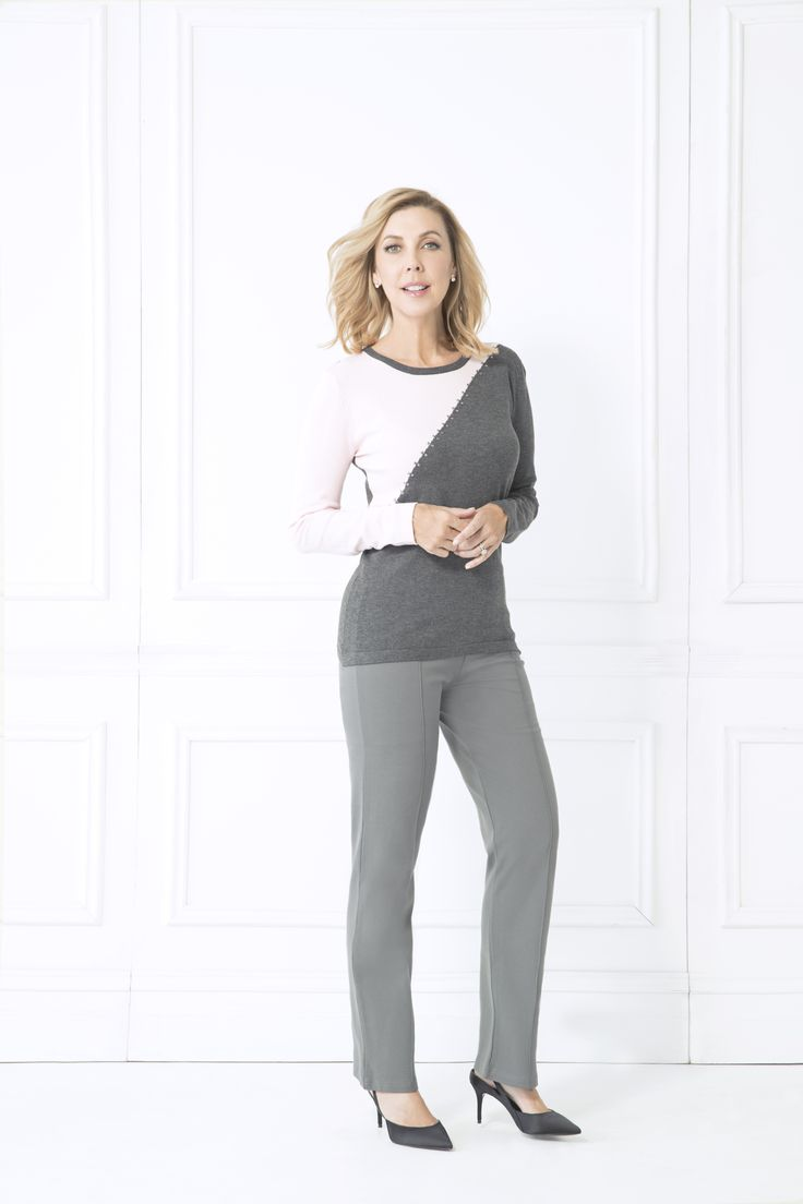 The Olena Jumper is the perfect statement piece for your wardrobe this winter. The contrasting panels of colour add a bold yet feminine effect to this jumper. Pair with jeans, boots and simple jewellery for an eye catching winter look.  Long sleeve Crew neck Contrasting colour detailing