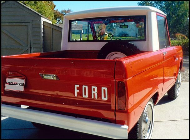 1966 Ford Bronco Pickup 170/105 HP, 3-Speed presented as lot T66 at Indianapolis, IN 2013 - image3