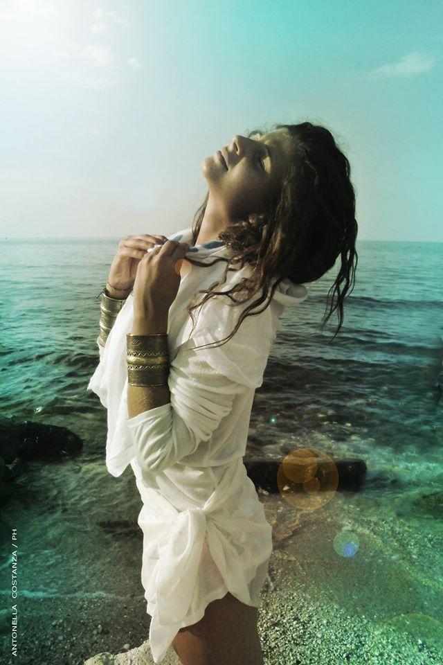 """..""""vento d'estate"""" foto di Antonella Costanza model Pia"""