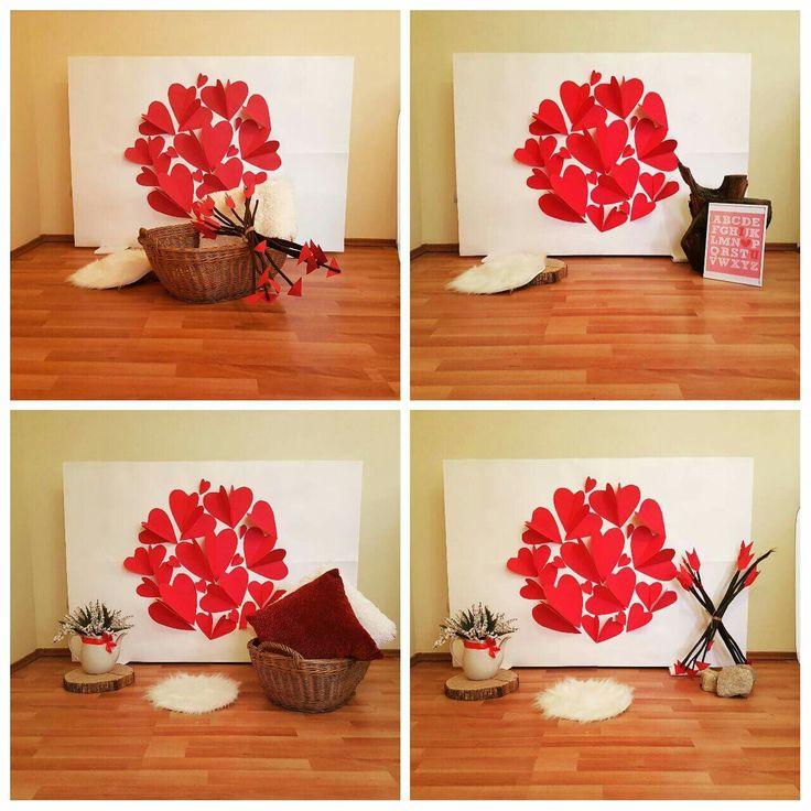 V-Day photo corner for kids