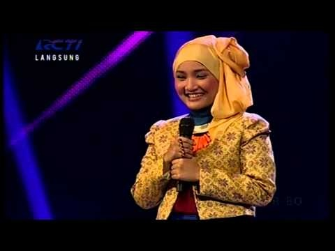 FATIN SHIDQIA - MERCY (Duffy) - GALA SHOW 7 - X Factor Indonesia 5 April 2013