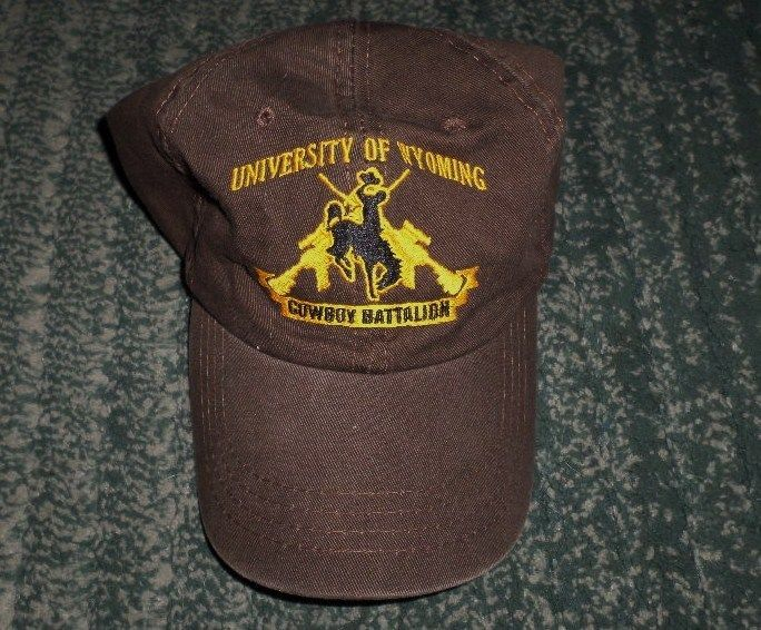 Men's Brown UNIVERSITY OF WYOMING COWBOY BATTALION Hat