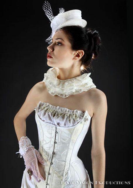 Steam punk wedding dress steampunk victorian dandy stuff for Steampunk corset wedding dress