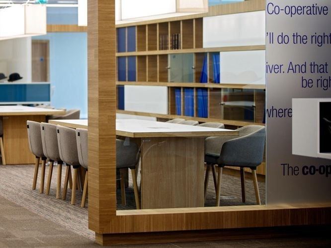 Partition wall by Plexwood