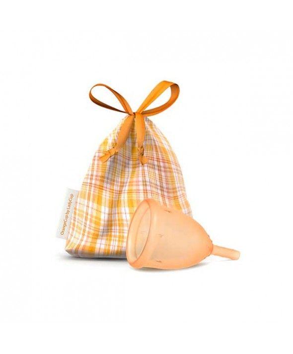 LadyCup Orange S http://www.biokime.com/coupes-menstruelles/cup/ladycup-orange-s.html