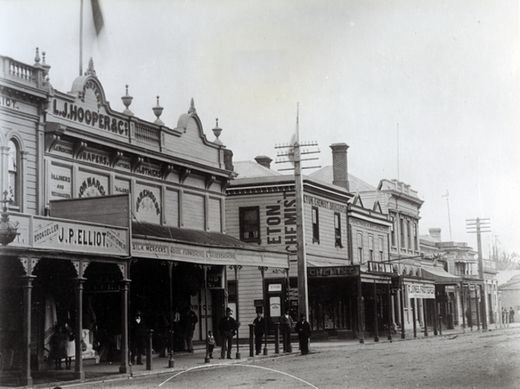 Queen Street, east side : Photograph - Wairarapa Archive