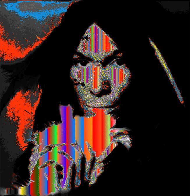 Buffy Sainte-Marie, Native Canadian artist and singer/musician, who has focuses on issues of indigenous peoples of the Americas #womensart